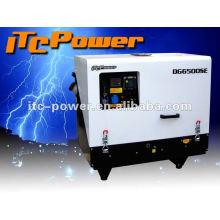 Super silencioso (65dB) DG6000SE 5kva silencioso generador diesel casa precio