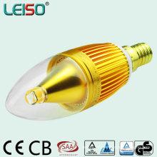 Alumium CREE 5W 400lm C35 Candle Light (leiso A)