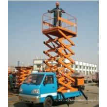 Hydraulic Truck Mounted Scissor Lift Platforms Sh012