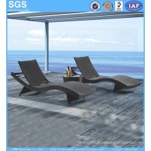 Espreguiçadeira de ratão Espreguiçadeira de praia Big Wave Outdoor Furniture