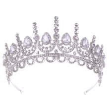 2019 New fashion  design zircon wedding Tiaras and crowns