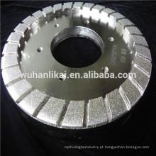 roda de ligação de resina de diamante galvanizado para moagem de vidro