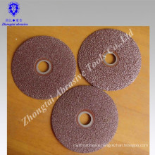 0.8mm thickness silicon carbide fiber disc for stainless steel and paint removing