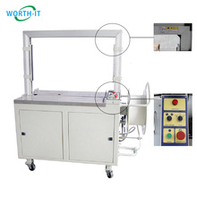 Tape PP Band Polyester Steel Box Carton Machinery Automatic Strapping Machine