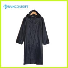 Polyester Long Sleeve PVC Raincoat (RVC-103)