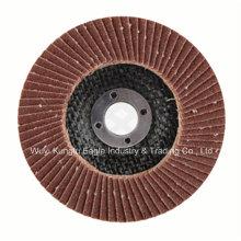 Aluminum Oxide with Fibre Glass Cover Flap Disc