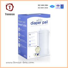 Cajas de embalaje de papel plegable blando de impresión simple