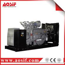 1200KW / 1500KVA 50hz generador con perkins motor 4012-46TAG2A hecho en Reino Unido