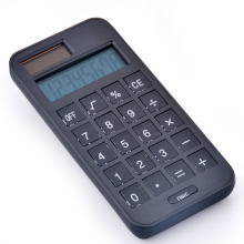 Dual Power 8 Digits Calculator Small Phone Shape Calculator