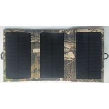 Paquete del bolso del cargador solar plegable del libro eléctrico del iPad del teléfono móvil 6W con la certificación de TUV
