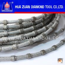 La cuerda de diamante de alta calidad vio para el corte de mármol