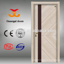 Eco friendly hollow core flush melamine MDF door