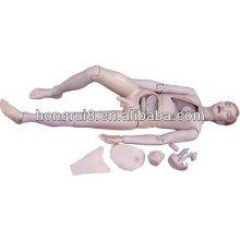 Mannequin de soins infirmiers masculins de haute qualité ISO pour la formation aux patients