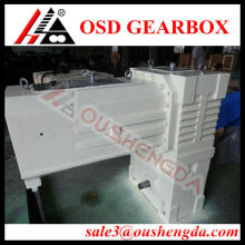 Reduction gears helical twin screw gearbox for extruder