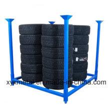 Falten 60X60 Zoll Metall Reifen Reifen zusammenklappbare stapelbare Stillage