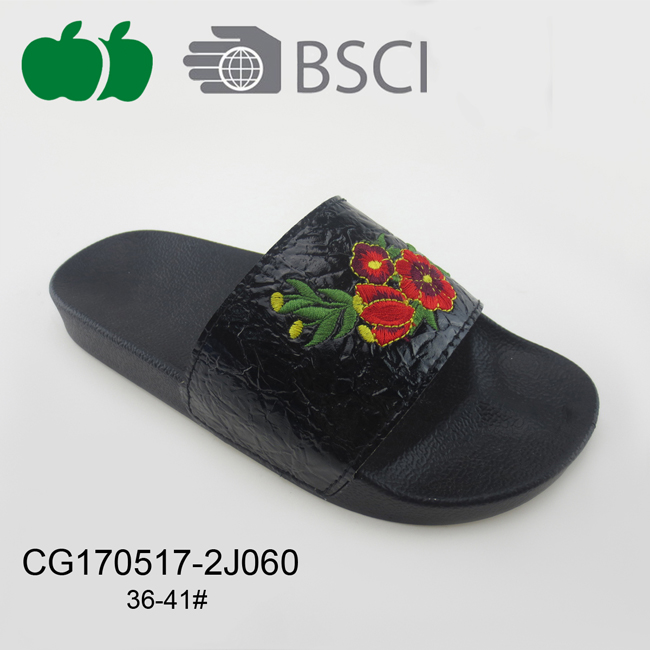 Fashion Design Summer Women Plastic Slipper
