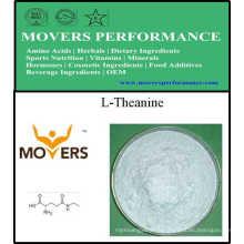 L-Théanine de catégorie comestible d'acides aminés d'approvisionnement d'usine