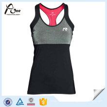 Polyester Gym Wear Sports Singlets Femme athlète Singlet