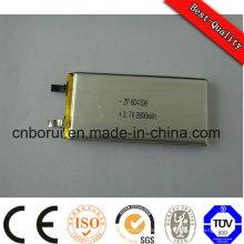 Batterie rechargeable de polymère d'ion de lithium de Pristmatic 520mAh 3.7V pour le scanner de code barres