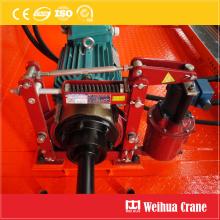 Электрический гидравлический тормоз крана