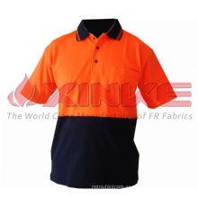Camiseta 100% de protección UV de algodón para exteriores