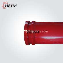 Yellow Putzmeister ZX Concrete Pump Pipe