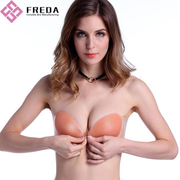 Silikon Push Up Bra tak bertali bahu Online Dengan Side-Wings