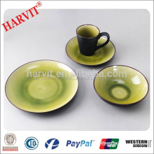 Novelty Products Chinese 16pcs Hand-painting and Reactive Glazed Oriental Dinnerware