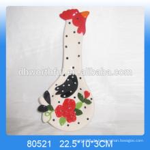 Personalisierte Huhn geformt Keramik Tier Löffel Rest