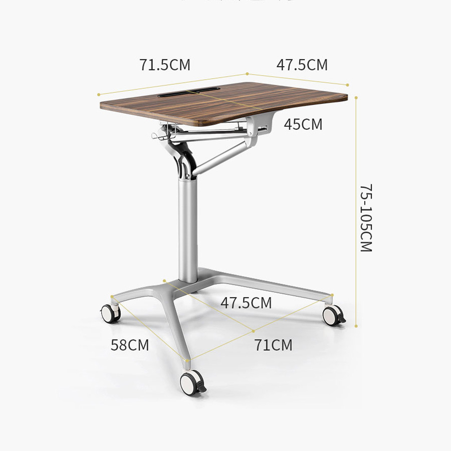measurement of laptop table