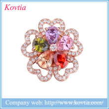 Casamento rhinestone flor broches mulheres vestidos broches china fornecedores yiwu jóias