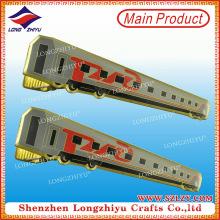 Chapado en oro de encargo de la venta caliente y clip de lazo suave del esmalte en precio bajo