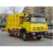 Carro de basura trasero de Sinotruk HOWO 4X2
