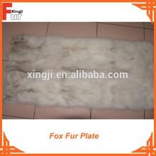 Placa de piel de zorro de grado chino
