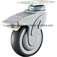 Ball Bearing Plastic Medical TPR Caster