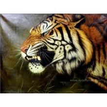 100% handgemalte Tiger-Ölgemälde