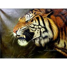 Pintura a óleo pintada mão da animal da decoração
