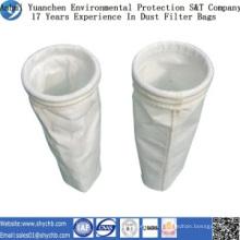 Sac de filtre de la poussière de polyester d'approvisionnement direct d'usine pour l'industrie de métallurgie avec l'échantillon gratuit