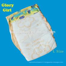 Chine La meilleure couche de bébé utilisée sleepy avec des couches superabsorbantes usine