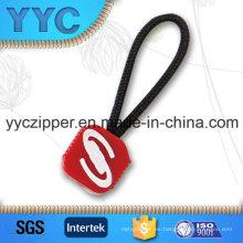 Nuevos tiradores personalizados de la cremallera de la cuerda de Arrivalling para los bolsos