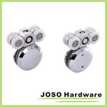 Безрамная система раздвижных дверей Цинковый дверной ролик (BA5002B)