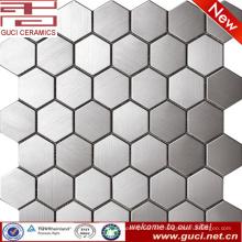fuente de la fábrica de china gran mosaico de acero hexagonal de acero inoxidable