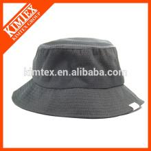 OEM пользовательские ведро шляпа, 100% нейлон широкий brim простой ведро шляпа оптовой