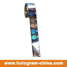 Kundenspezifisches Sicherheits-Laser-Hologramm-Heißfolienprägen 3D