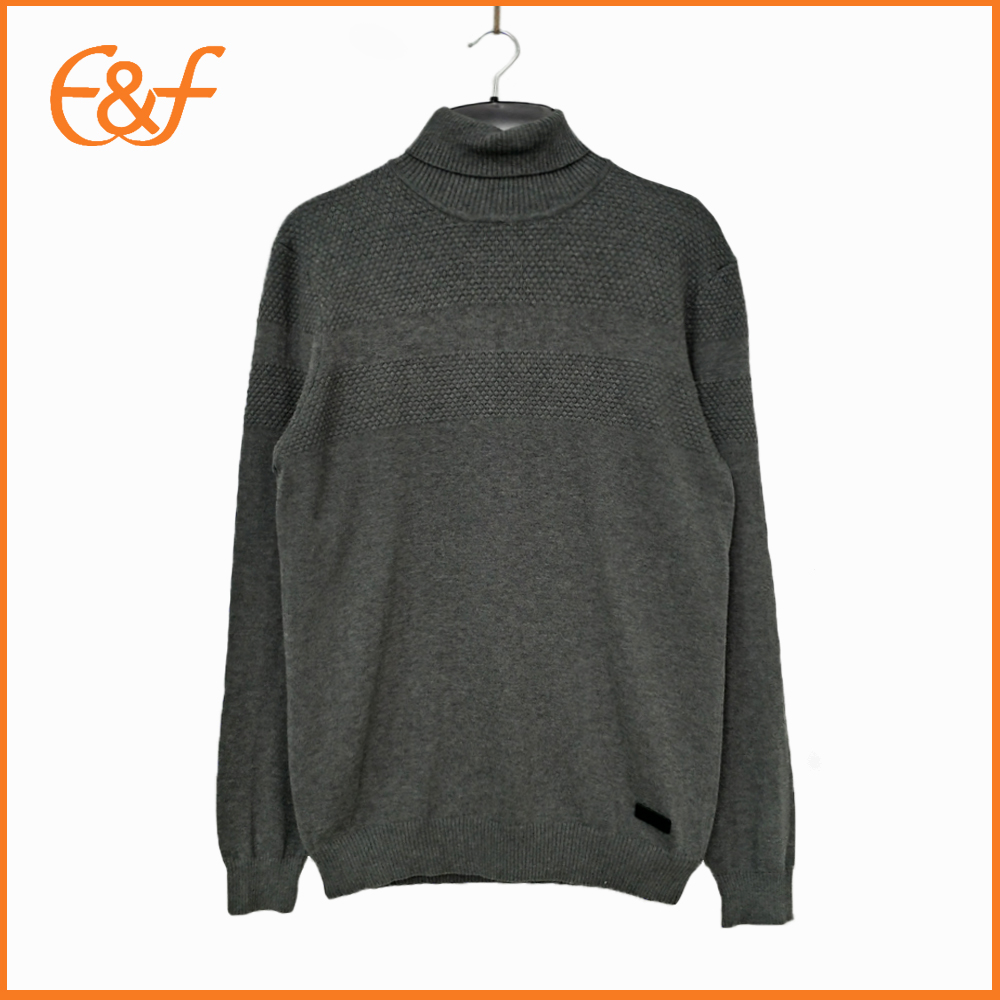 Turtleneck sweater for men