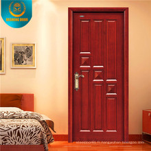 Porte intérieure d'oscillation de décoration de style classique pour l'Asie du sud-est
