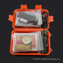 2015 chongfu outdoor camping mess kit personal military survival kit for camping