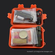 2015 chongfu outdoor camping mess kit kit de sobrevivência pessoal militar para acampar