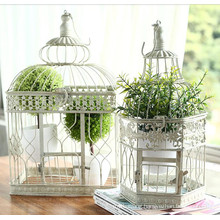 Hand Made Iron Bird Cage for Outdoor Decoration