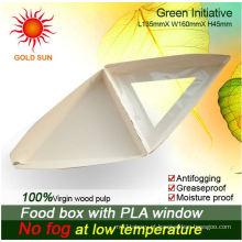 Caixa de alimentos frescos (W170) com polpa de madeira 100%
